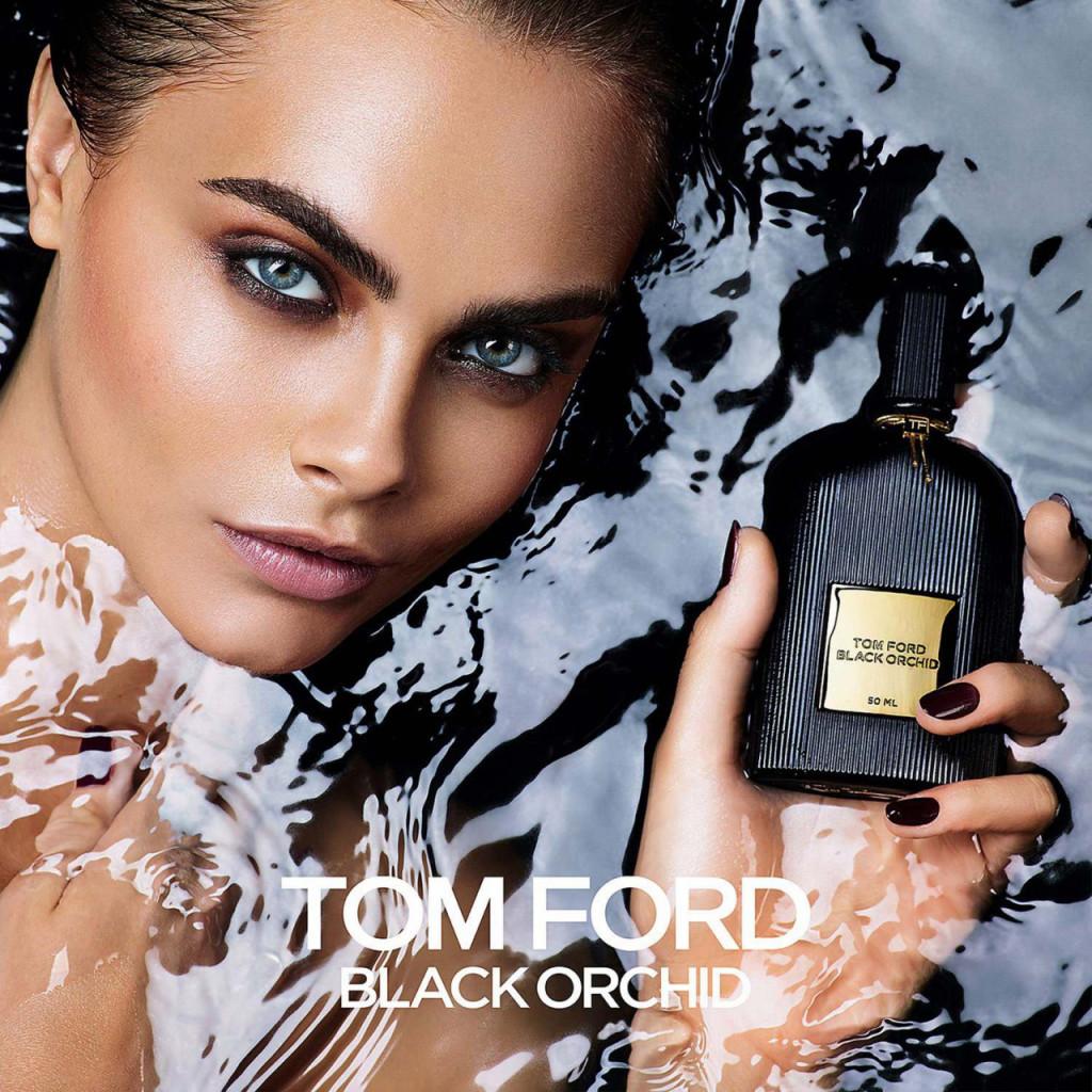 Cara Delevingne Tom Ford Black Orchid